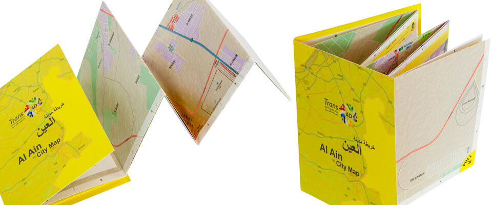 Customised Al Ain Visitors' Map