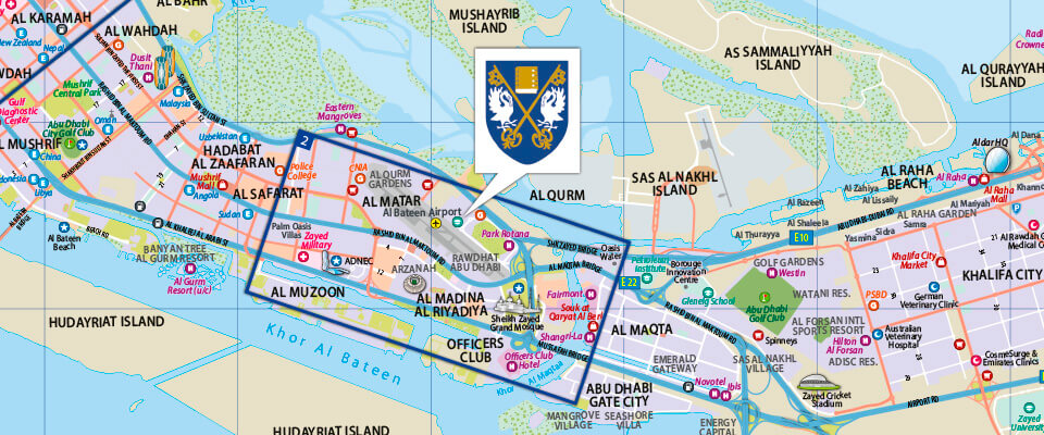 Brighton College Customised Abu Dhabi Map Explorer Publishing