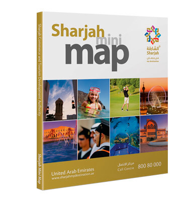 Customised Sharjah Mini Map for SCTDA