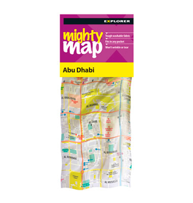 Abu Dhabi Mighty Map