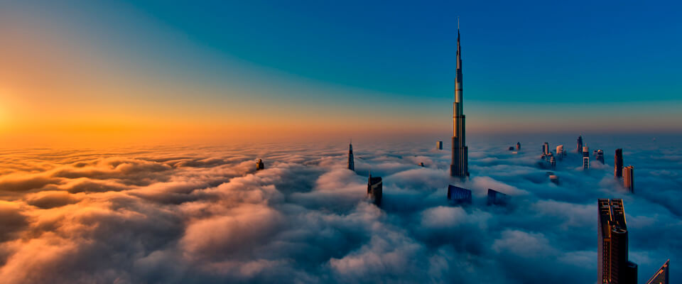 Dubai: Ambition and Inspiration (Morning Fog)