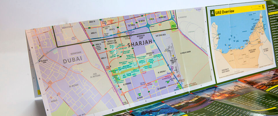 Sharjah Mini Map