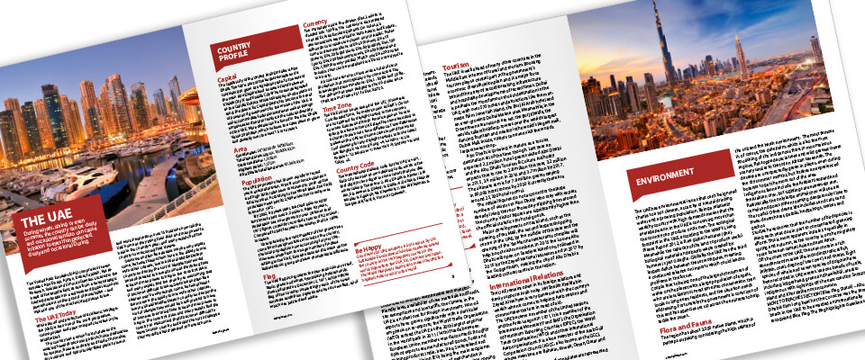 Customised Dubai Residents' Guide for Intouch Relocations